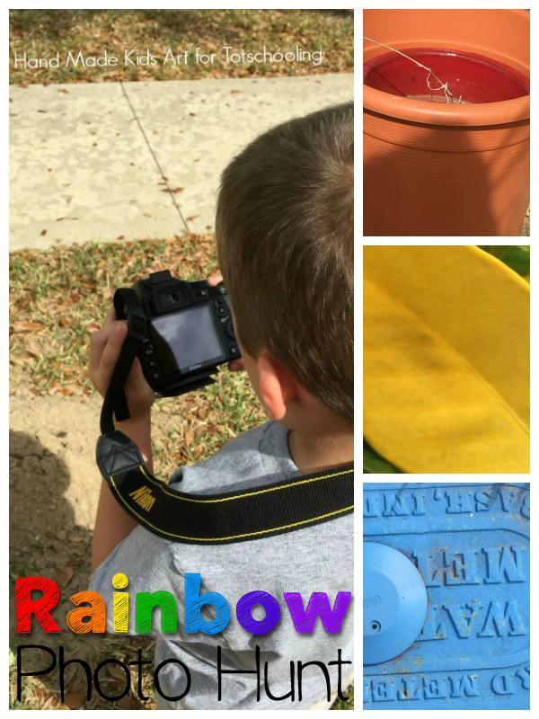 Rainbow Photo Hunt: STEAM Activity