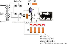 nerv: 6 Volt Led Emergency Light Circuitnerv - blogger