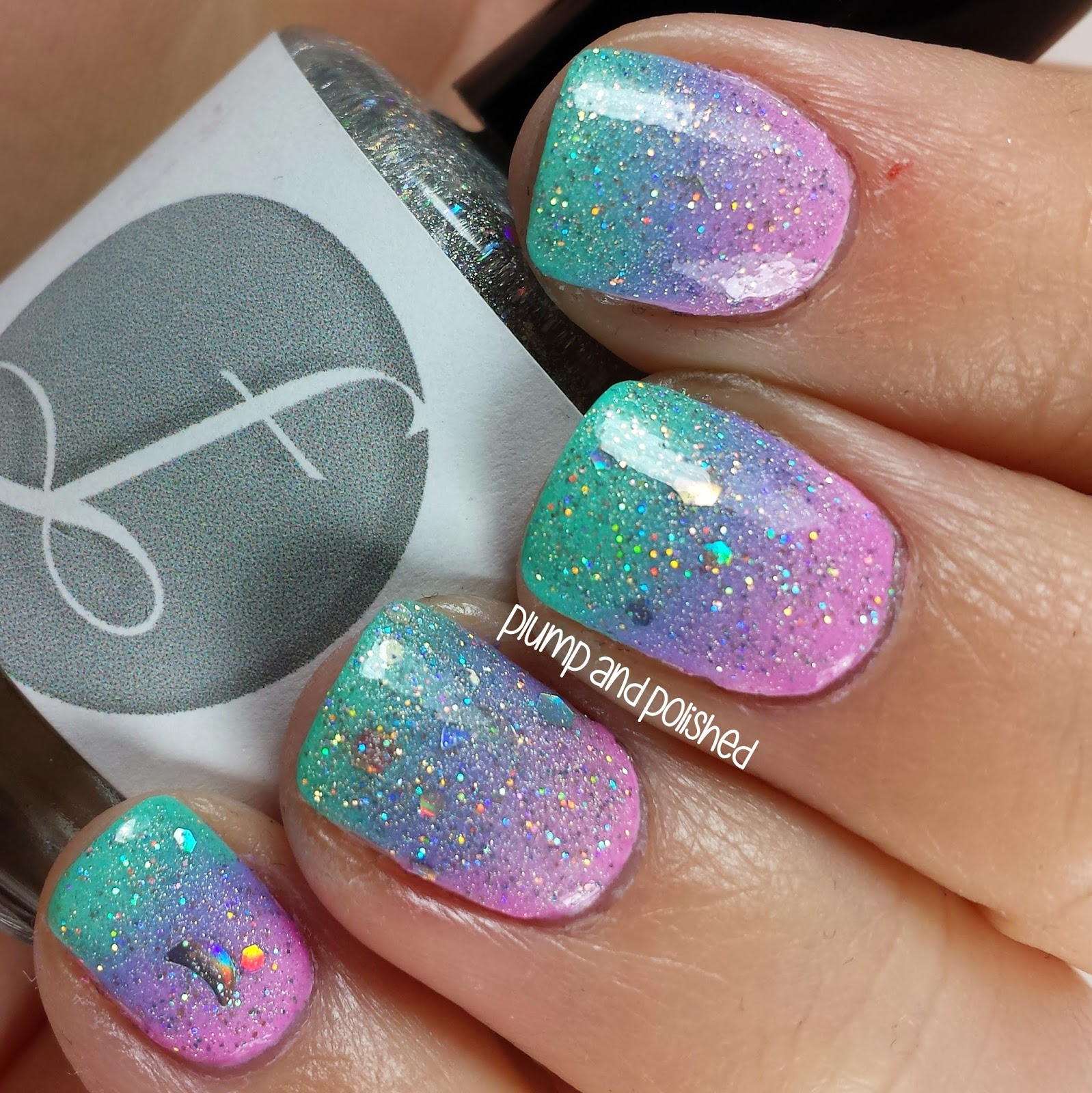 Gradient Nail Art: Plump And Polished: The Beauty Buffs: Pastels