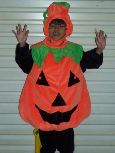 KSH-008 Kostum Labu Haloowen/Pumpkin