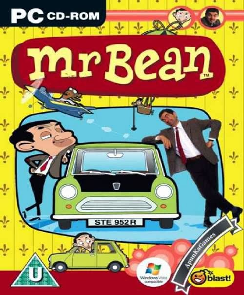 Mr Bean Game Cover, Poster