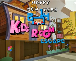 Juegos de Escape Happy New Year 2014 Kids Room Escape