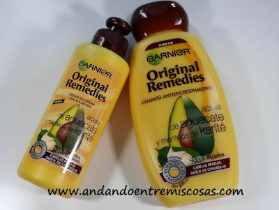 Original Remedies, Garnier