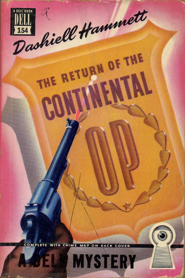 The Continental Op Davy Crockett39s Almanack of Mystery Adventure and The Wild West