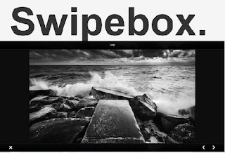 Swipebox : A touchable jQuery lightbox plugin