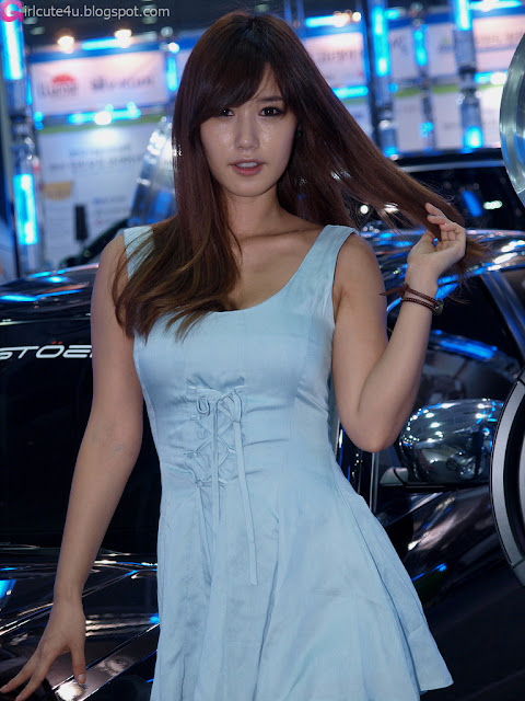 5 Song Jina - Seoul Auto Salon 2012-Very cute asian girl - girlcute4u.blogspot.com