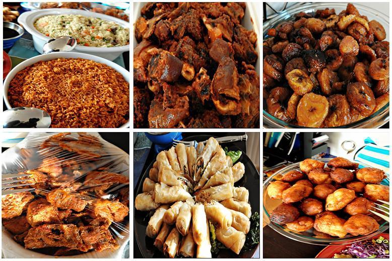 White Naija Weightloss: NIGERIAN FOOD