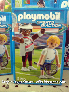 playmobil tennis sports action