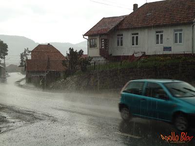 Ploaie la Toplita