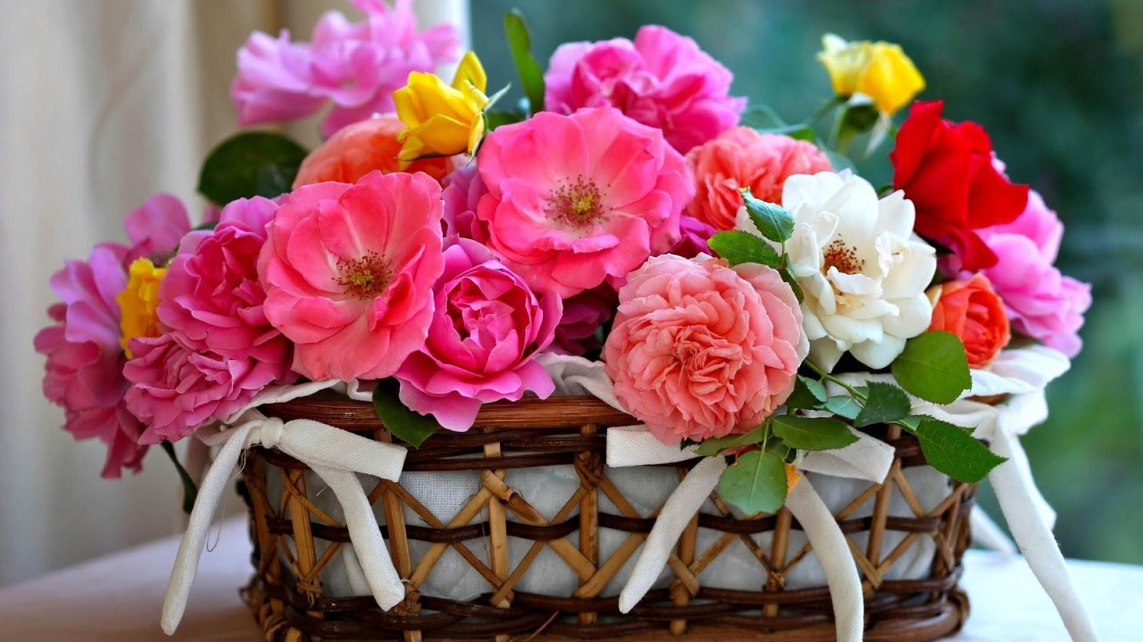 Pink flowers basket hd wallpaper free high definition wallpapers shayari urdu imagesurdu shayari with pictureurdu shayari description beautiful flowers basket hd izmirmasajfo