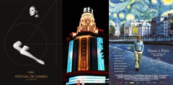 Cannes 2011 au Grand Rex : cérémonie d'ouverture et Minuit à Paris en projection
