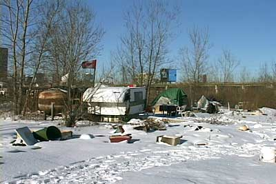 Tent City Toronto 2001 & ContraTexts: vagabondia toronto tent city - book - 2004 - Down to ...