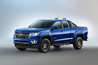 2016 Chevy Colorado Midnight Edition and Z71 Trail Boss Available Fall 2015