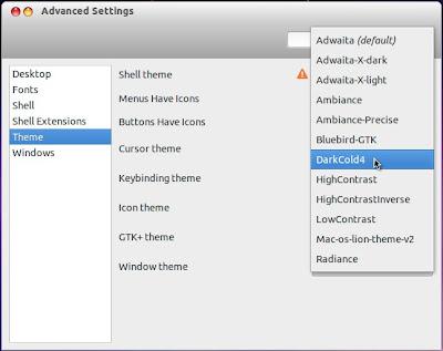 Menambakan Thema pada Ubuntu [GTK 2]