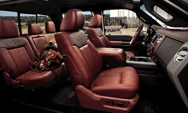 2011 Ford F-350 King Ranch interior
