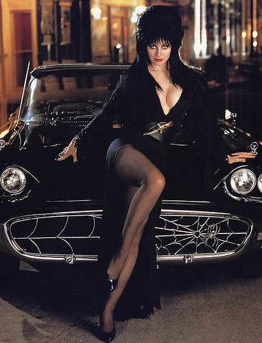 Elvira's T Bird http://melissasimaginarium.blogspot.com/2011/04/e-is-for.html