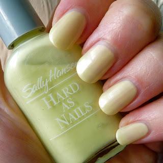 Sally Hansen Nard As Nails Lime Creme Nail polish swatch