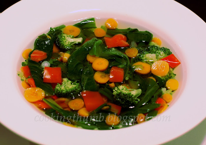 Cooking Thumb: Vegetable Clear Soup