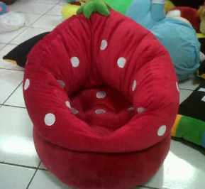 PUSAT GROSIR SOFA BONEKA STRAWBERRY KIDS