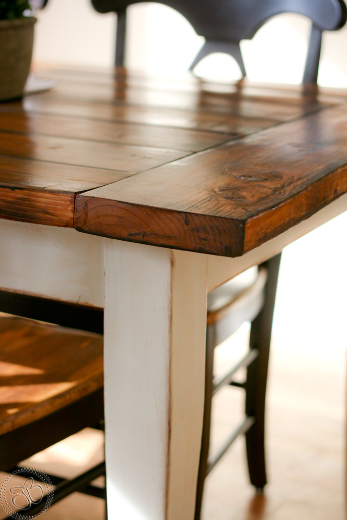 little bits of bliss farmhouse table