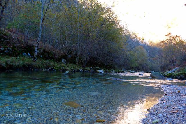 Río Casaño Cabrales Asturias