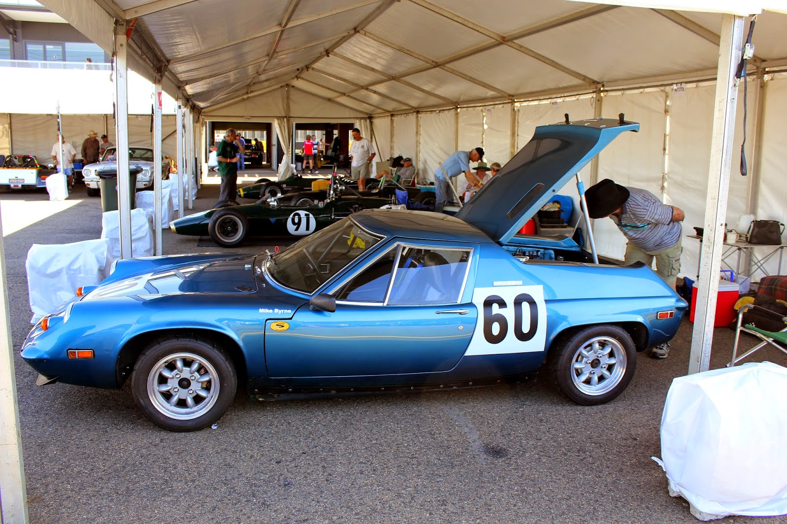 Aussie Old Parked Cars: 1973 Lotus Europa Race Car