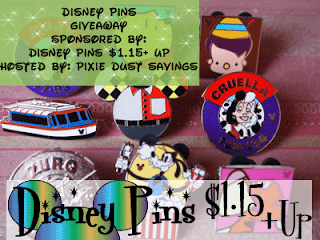 Enter the Disney Pins Giveaway. Ends 9/23