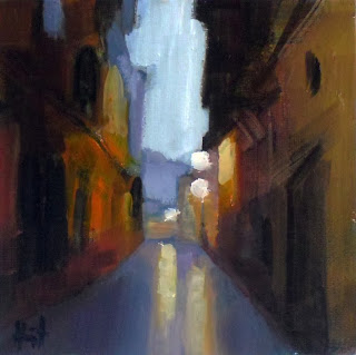 Early Morning in Orihuela by Liza Hirst