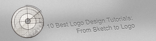 10 Best Logo Design Tutorials : From Sketch to Logo