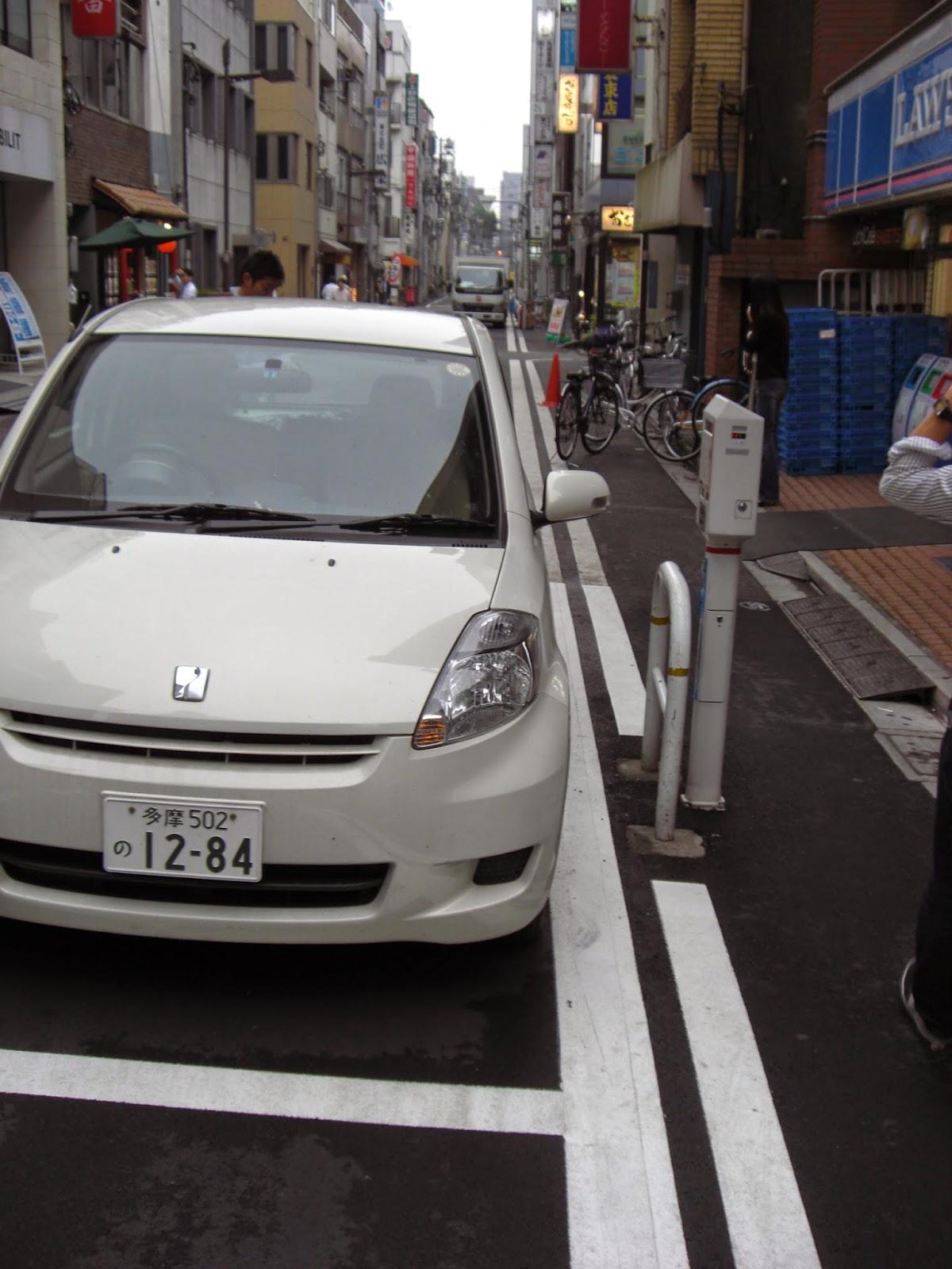 Car parking stickers design india - Parking Meter Parking In Tokyo