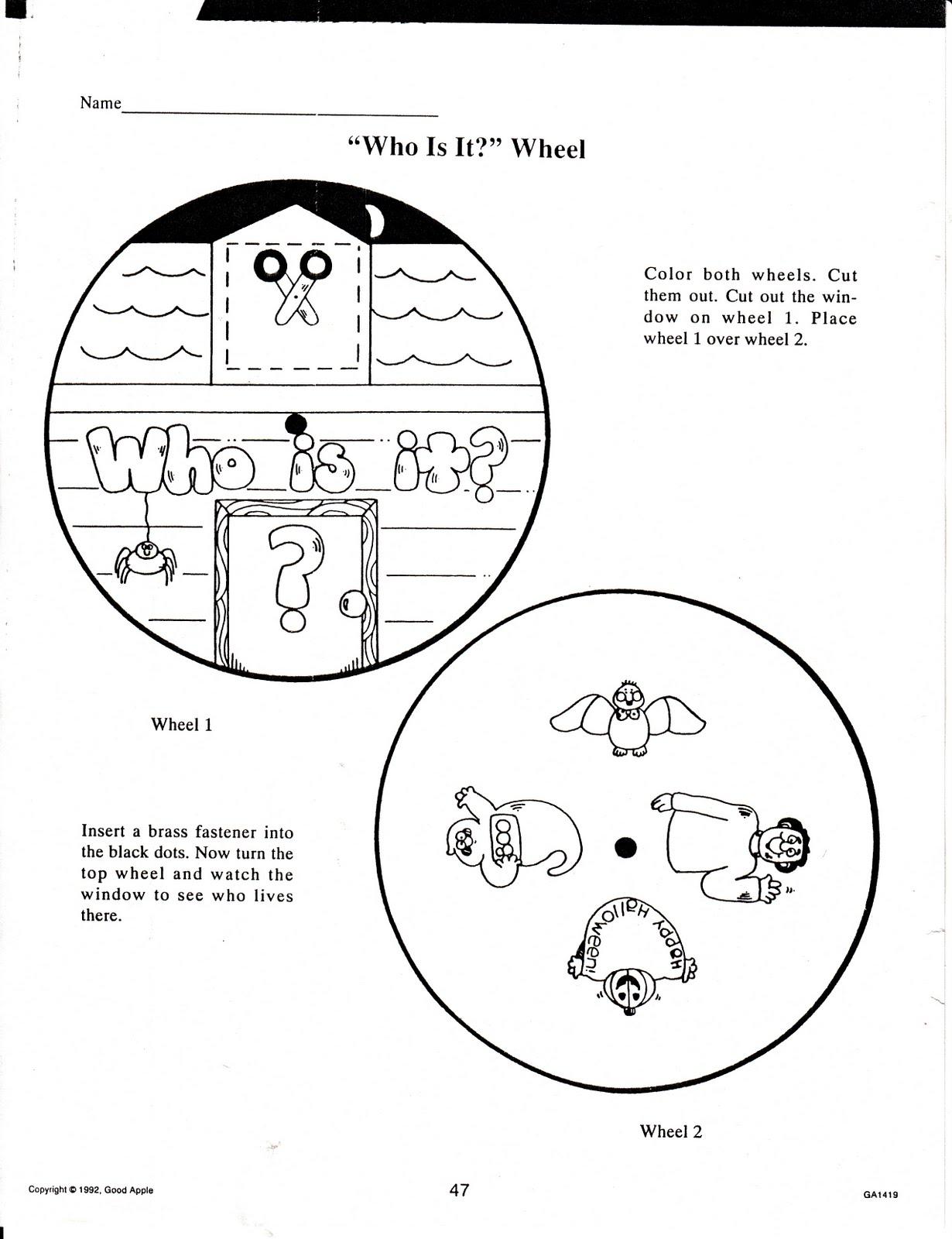 teacher u0027s market halloween fall printables for your classroom use