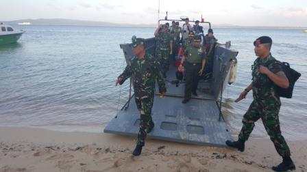 Panglima TNI kunjungi Satuan TNI di Pulau Terluar Indonesia