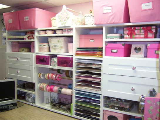 Purple sage originals cabinets and storage for craftrooms for Room closet organizer