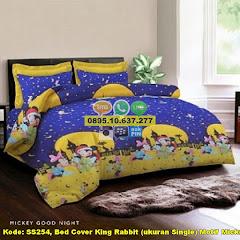 Harga Bed Cover King Rabbit (ukuran Single) Motif Mickey Jual
