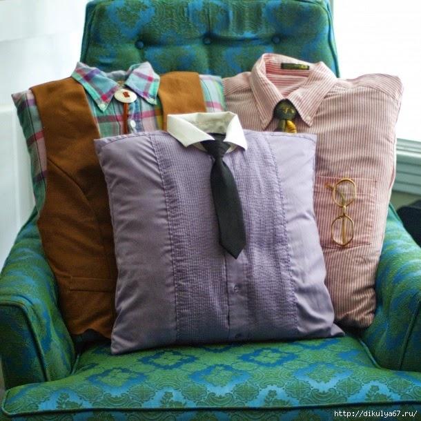 Подушка на подарок своими руками