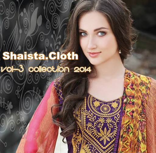 Shaista Vol-3 Lawn 2014