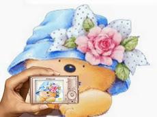 APN oursonne chapeau à fleurs