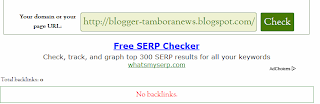 Cara Check Jumlah Backlink | Backlink Checker