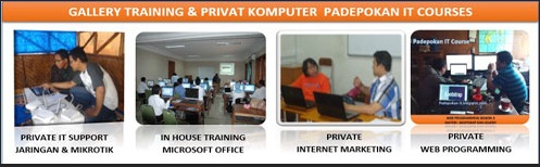 IT Training, Private, Les,  Kursus Komputer, Online Training