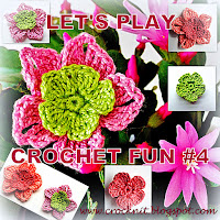 free crochet patterns spring five petal flowers
