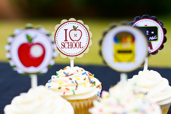 Cupcake Toppers on Forever Your Prints
