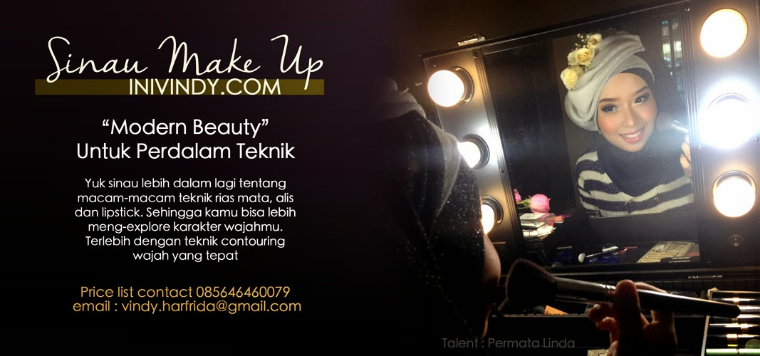 tutorial Up Wisuda Vindy  Make Ala Tutorial Yang dan wisuda makeup natural Vindy Ajaib: Hijab Natural