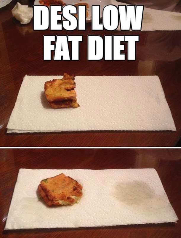 Low fat food in hindi jokes