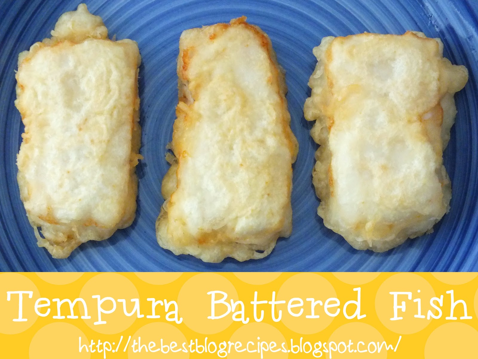 Tempura battered fish the best blog recipes for How to make fish batter