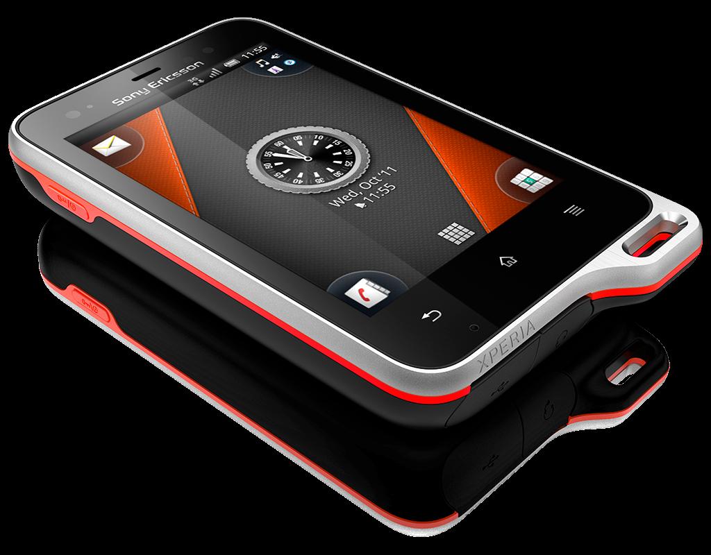 Sony ericsson xperia active un celular todoterreno