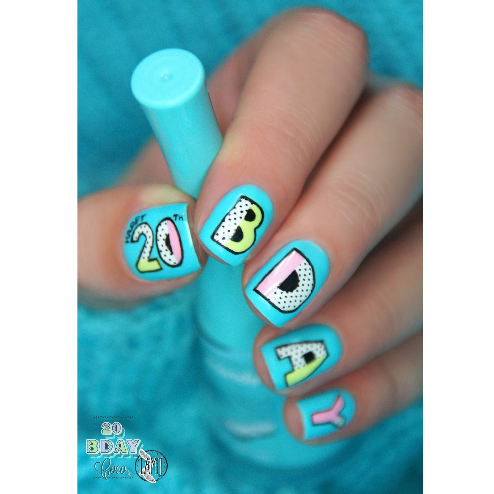 Happy Birthday Nails: Fall In ...naiLove!: Happy B-DAY, Coco