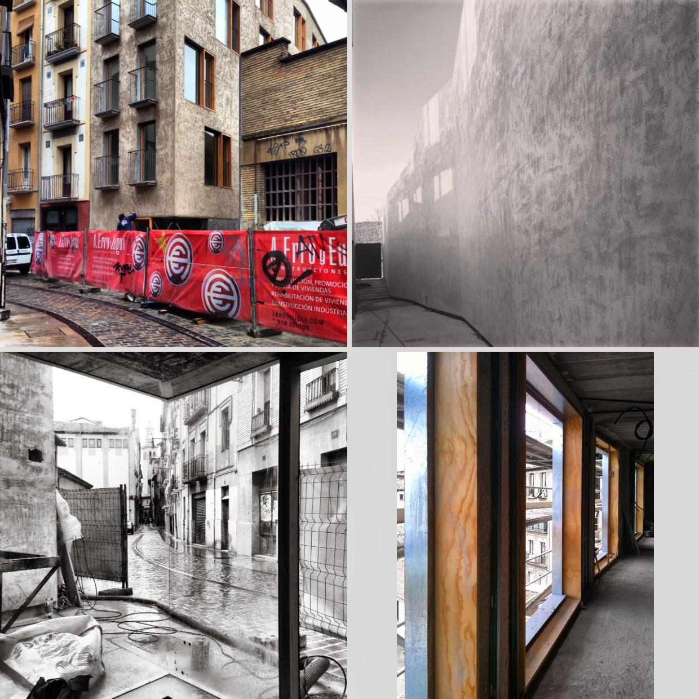 Arquitectura zona cero edificio de viviendas para realojos en el casco hist rico de pamplona de - Pamplona centro historico ...