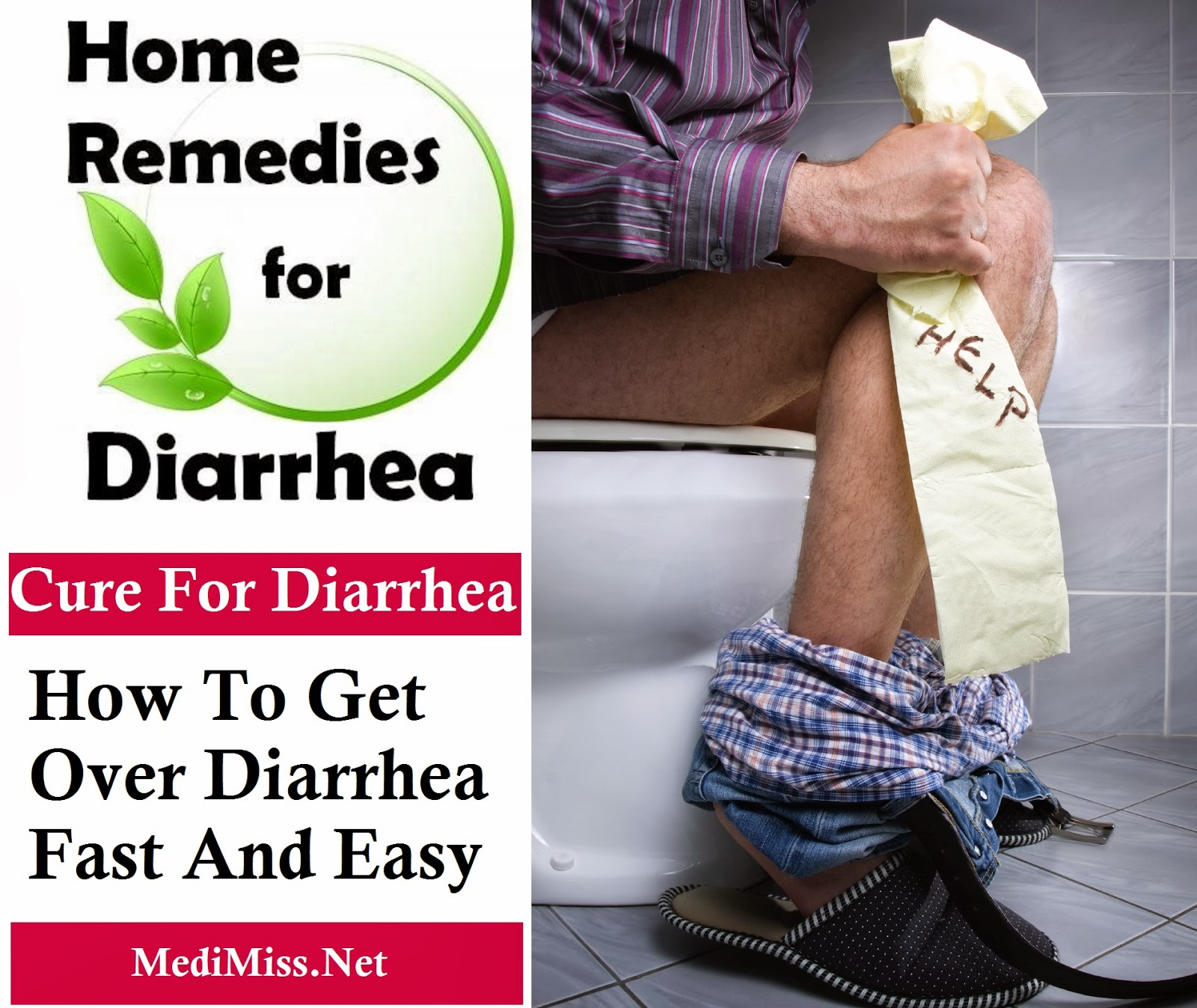Cure For Diarrhea - How To Get Over Diarrhea Fast And Easy ...
