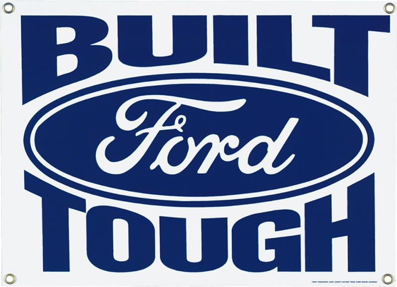 'Built Ford Tough' Tag Line Turns 35