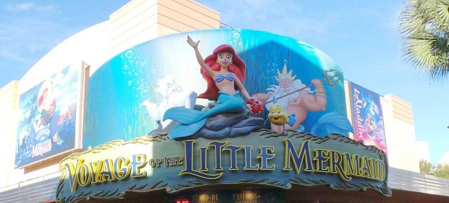 Disney World Recap - Hollywood Studios Voyage of the Little Mermaid